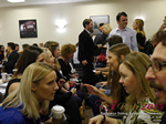 Speed Networking Among CEOs General Managers And Owners Of Dating Sites Apps And Matchmaking Businesses  at the 12th Annual E.U. iDate Mobile Dating Business Executive Convention and Trade Show