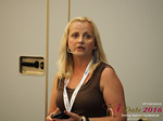 Krystina Trushnya - Publisher of Ukranian Dating Blog at the 45th iDate Dating Agency Business Trade Show