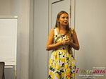 Svetlana Mukha - CEO of Diolli at the 45th Premium International Dating Business Conference in Cyprus