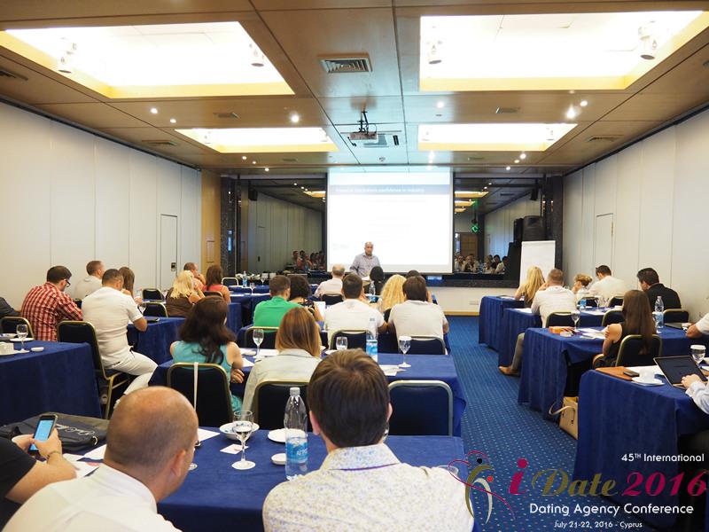 Louis Ferro - Исполнительный директор SD Ventures на 45ой Международной Премиум конференции индустрии знакомств в Лимассоле, Кипр
