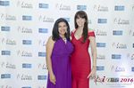 Damona Hoffman and Julie Spira  at the 2016 Miami iDate Awards