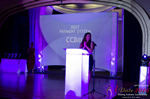 Jenny Gonzalez Presenting the Best Payment System Award at the 2016 iDateAwards Ceremony in Miami held in Miami