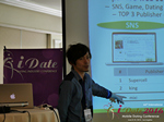 Takuya Iwamoto (Diverse-yyc-co-jp)  at the 38th Mobile Dating Negócio Conference in L.A.