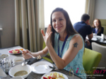 Lunch at the July 19-21, 2017 Premium International Dating Industry Conference in Minsk