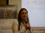 Dr. Julia Meszaros - Professor at Lebanon Valley College at the 48th iDate Premium International Dating & Dating Agency Negócio Trade Show